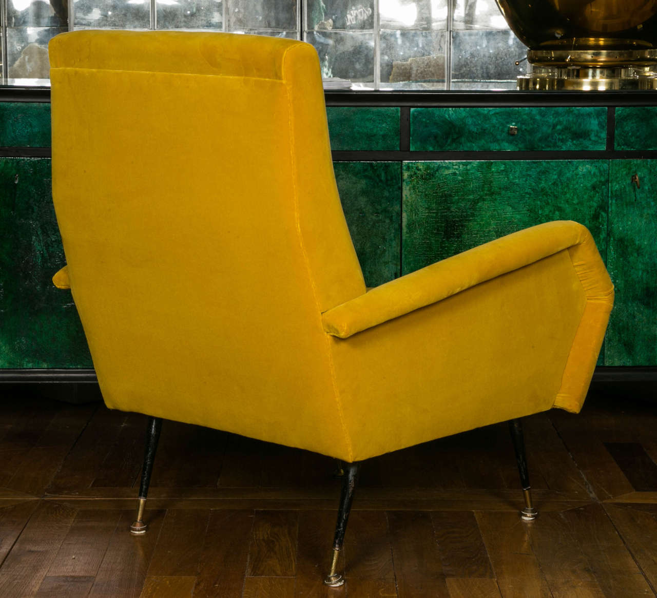 Mid-20th Century Pair of Armchairs in the Style of Marco Zanuso For Sale