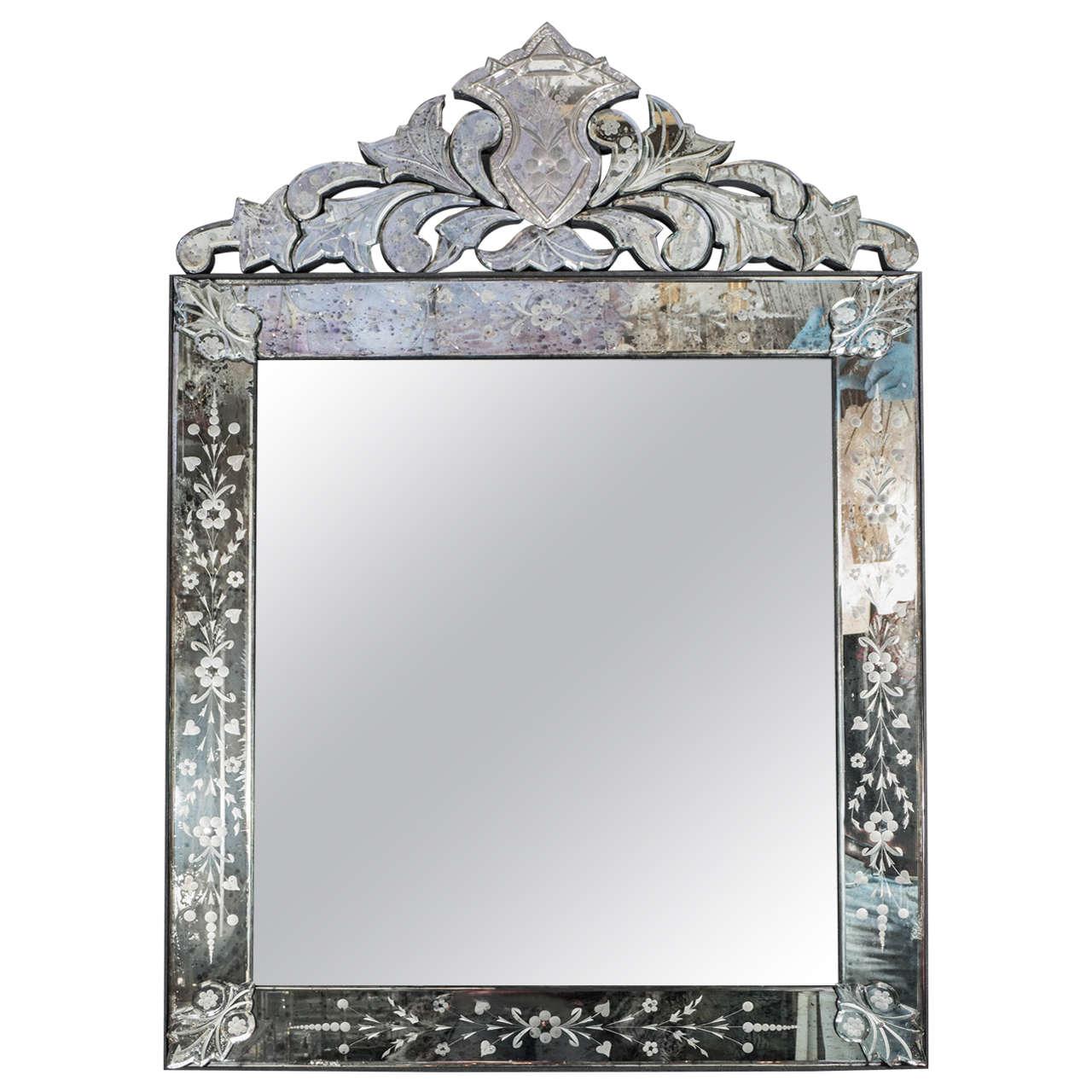 Elegant Venetian Style Mirror