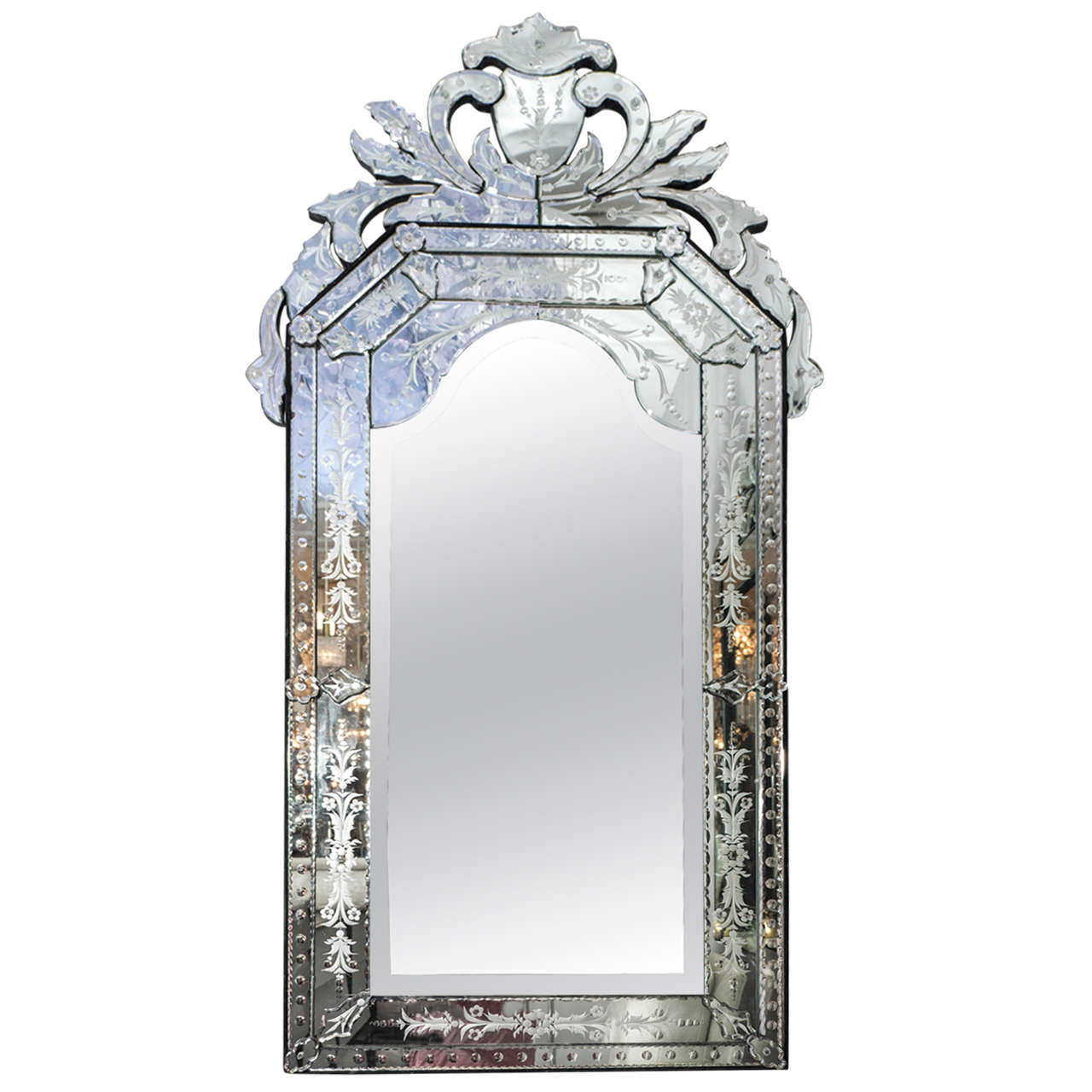 Venetian Style Mirror At 1stdibs