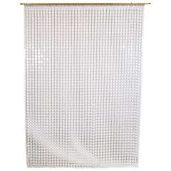 White Paco Rabanne Space Curtain