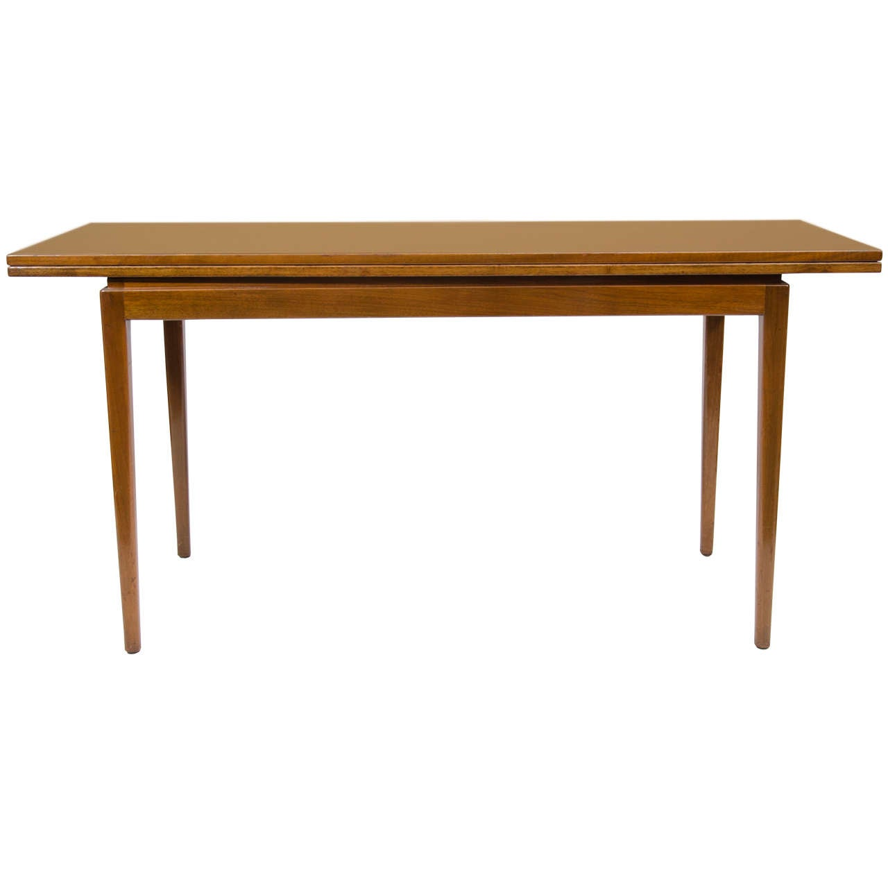 jens risom convertible dining console table at 1stdibs