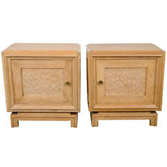 Twin Bedside Tables, circa 1940