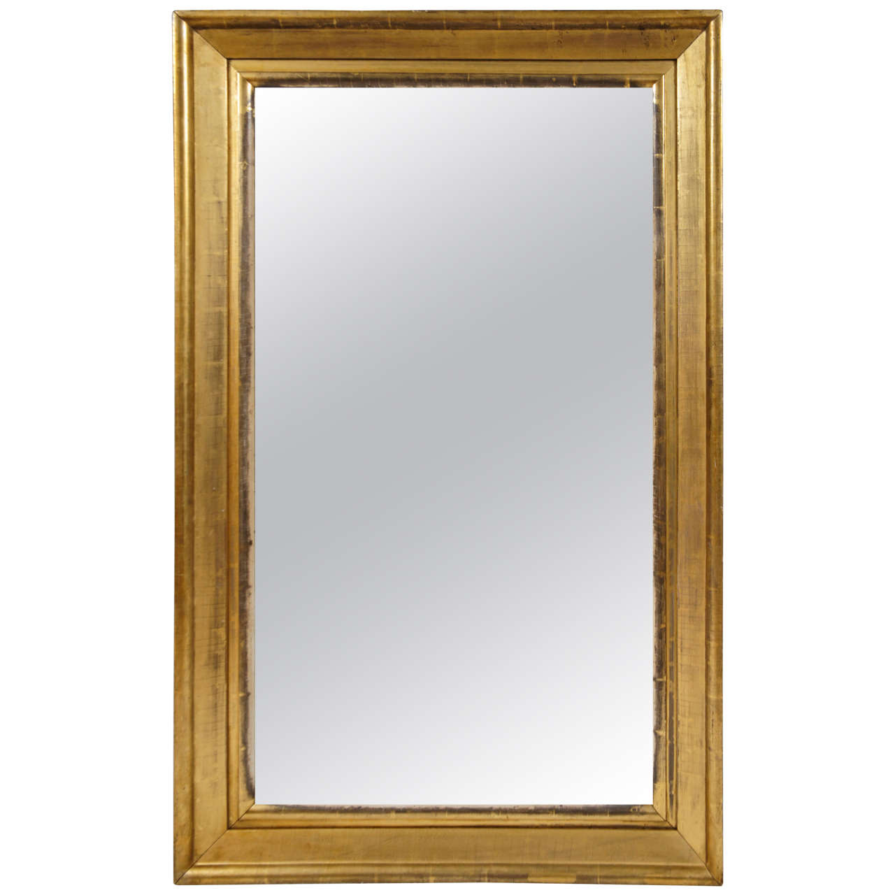 american empire gilt wood frame mirror at 1stdibs