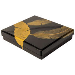 19th Century Suzuribako Japanese Lacquer Calligraphy Box