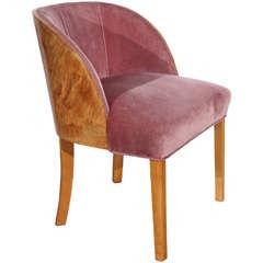 French Art Deco Vanity Chair