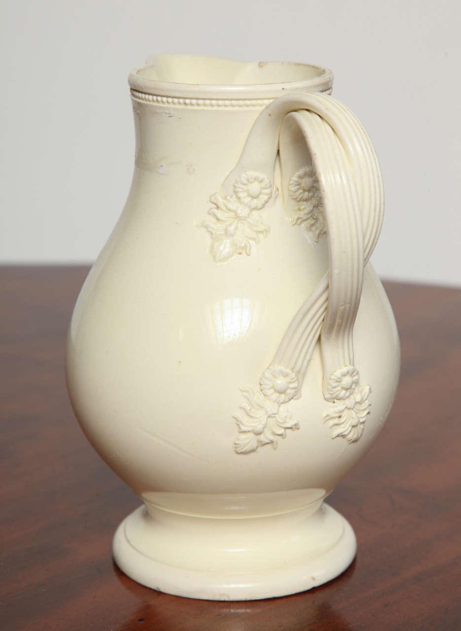 18th Century English Creamware Jug At 1stdibs