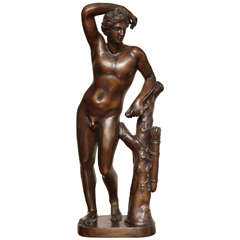 19th Century Bronze Neo-Classical Figure