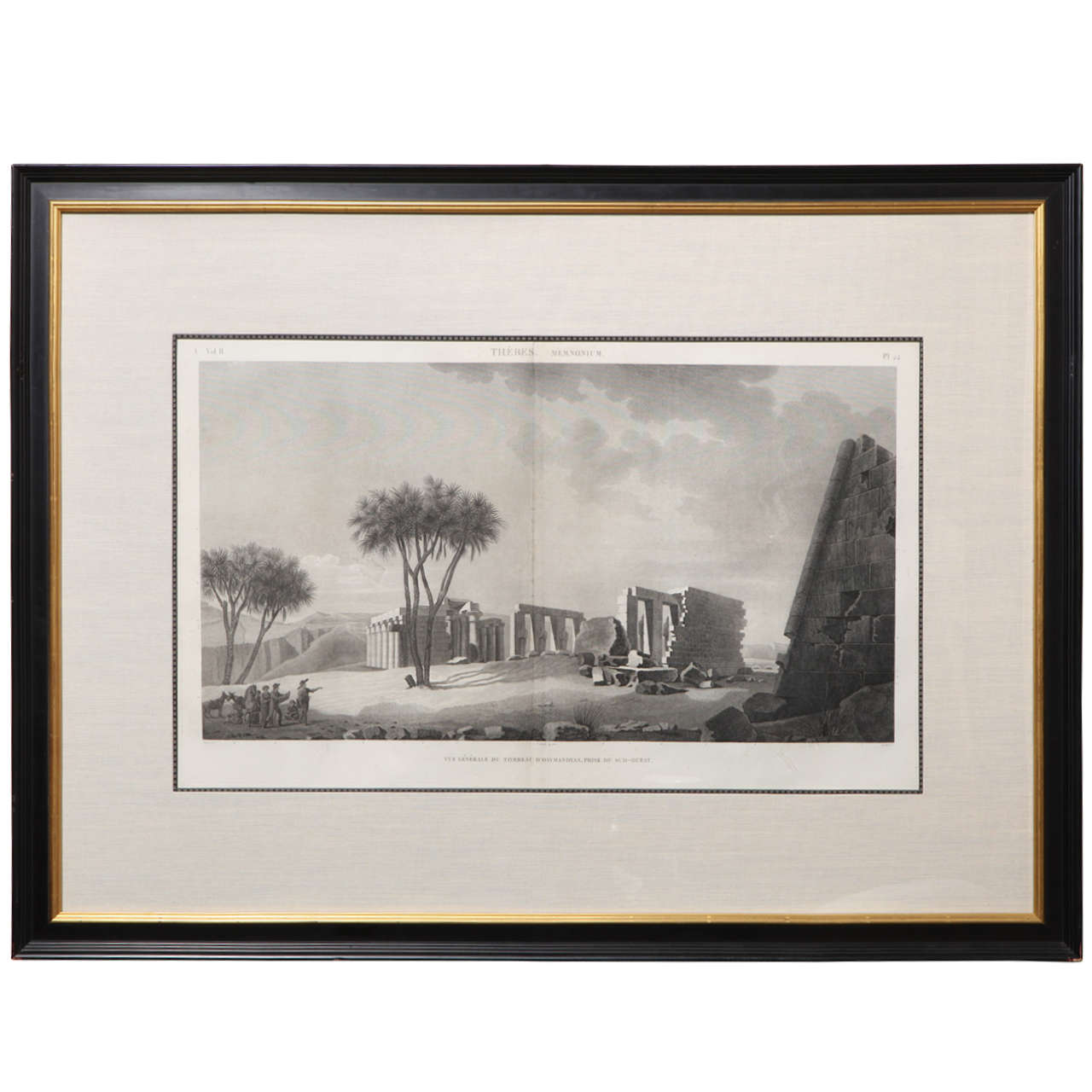 Early 19th Century French Steel Engraving
