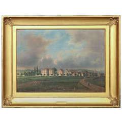 "19th Century Oil on Canvas by ""Hahn"""