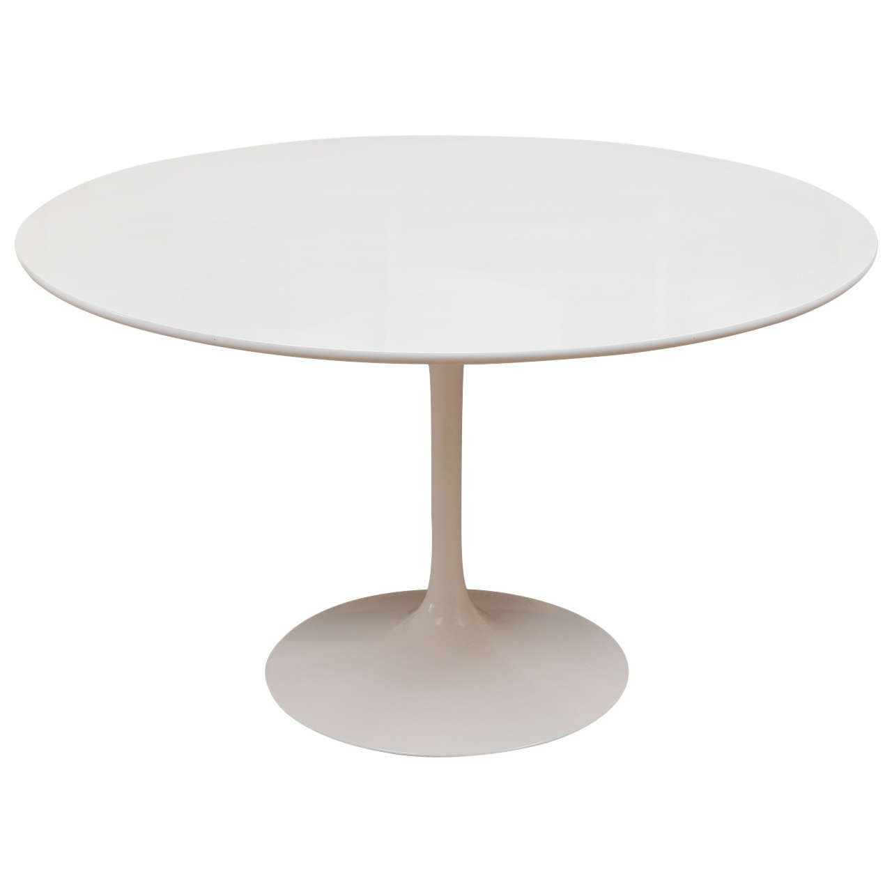 Saarinen For Knoll Tulip Dining Table At 1stdibs