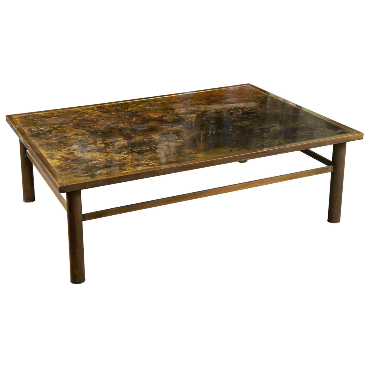 Bronze Laverne Coffee Table At 1stdibs