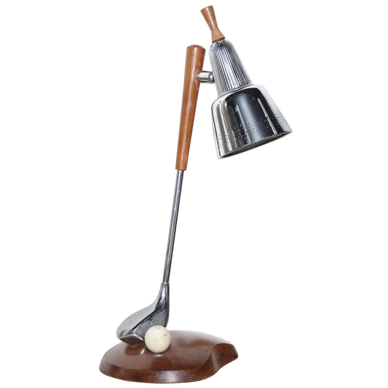 1950s Golf Lamp At 1stdibs