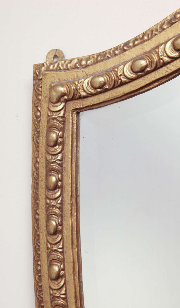 Shield-Shaped Mirror, English For Sale 1
