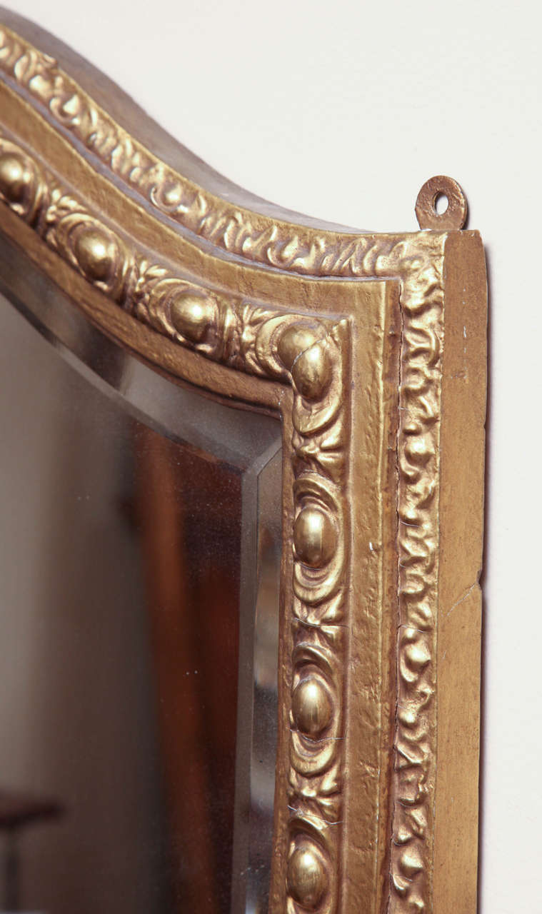 Shield-Shaped Mirror, English For Sale 2