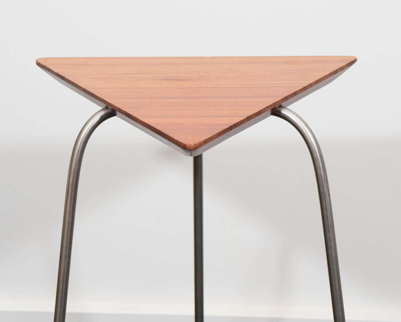 American Pair of Mahogany Tripod Tables For Sale