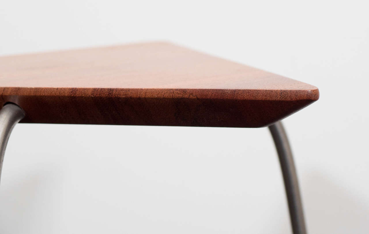 Pair of Mahogany Tripod Tables For Sale 3