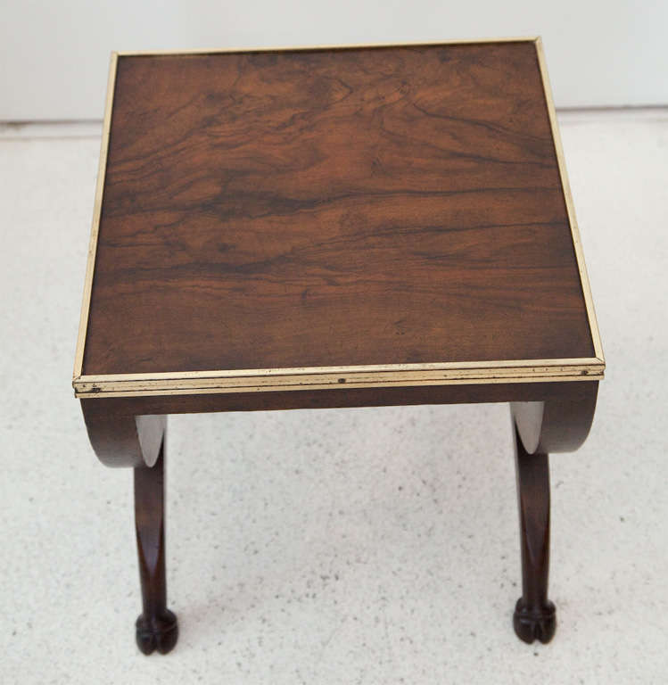 Occasional Table by TH Robsjohn Gibbings for Baker at  : MG7551 from www.1stdibs.com size 749 x 768 jpeg 41kB