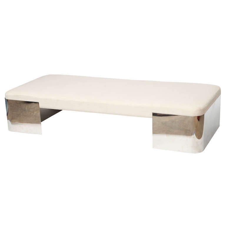 Karl Springer Daybed Bench At 1stdibs