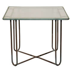 Walter Lamb Patio Table