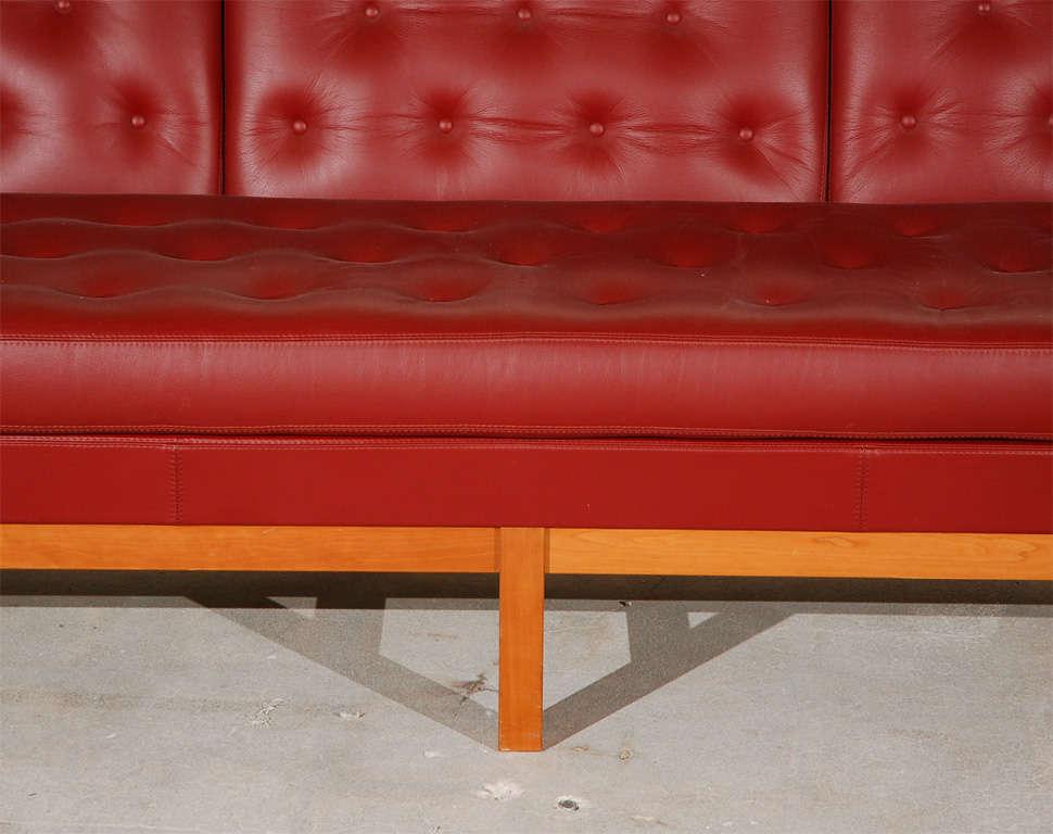 Danish Sofa by Erik Jorgensen For Sale