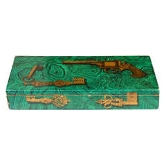 Rare Original Piero Fornasetti - Signed, Hinged Box