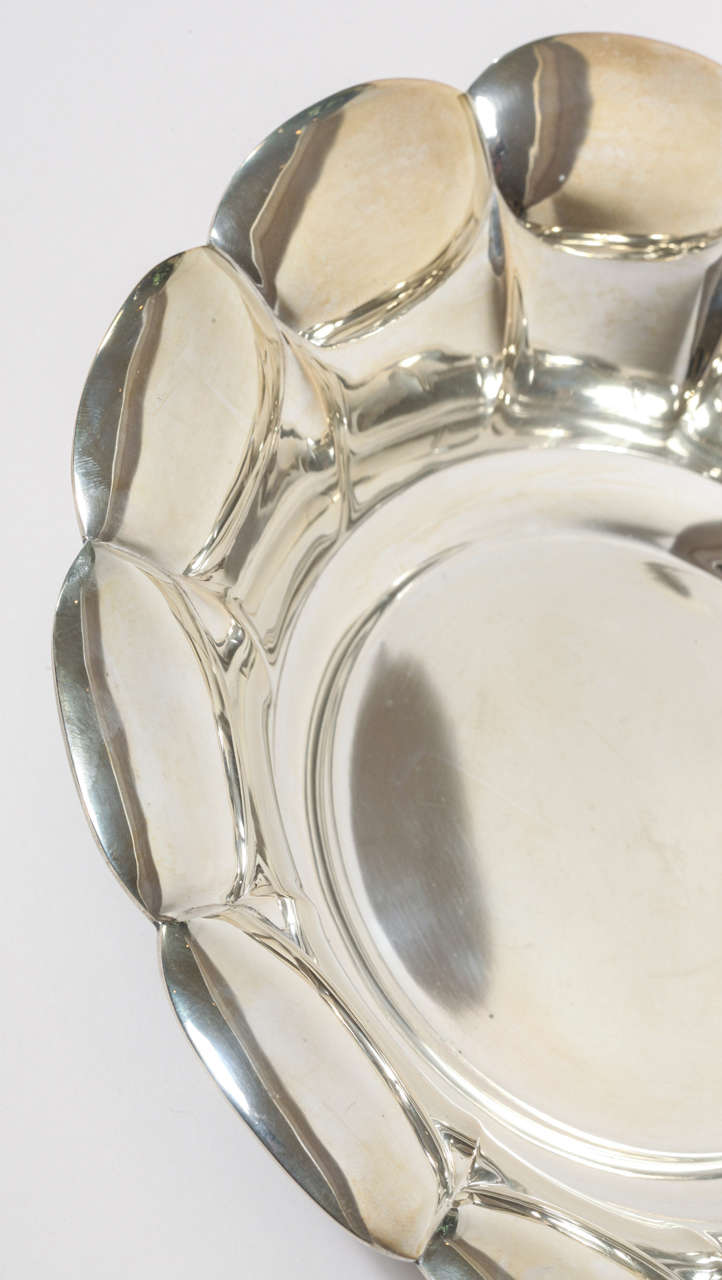 Swedish Art Deco Silver Bowl 3