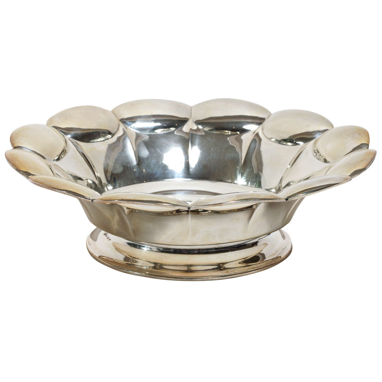 Swedish Art Deco Silver Bowl 1