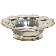 Swedish Art Deco Silver Bowl