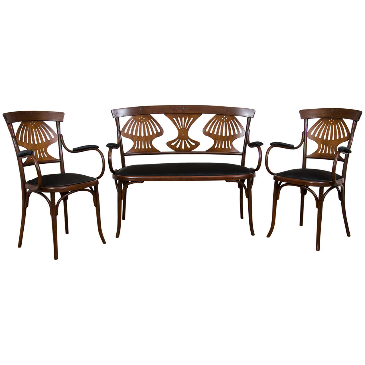 An Antique Three Piece Arts And Crafts Parlor Suite At 1stdibs
