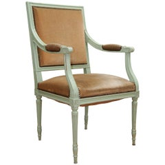 19th Century French Provincial Painted Chair