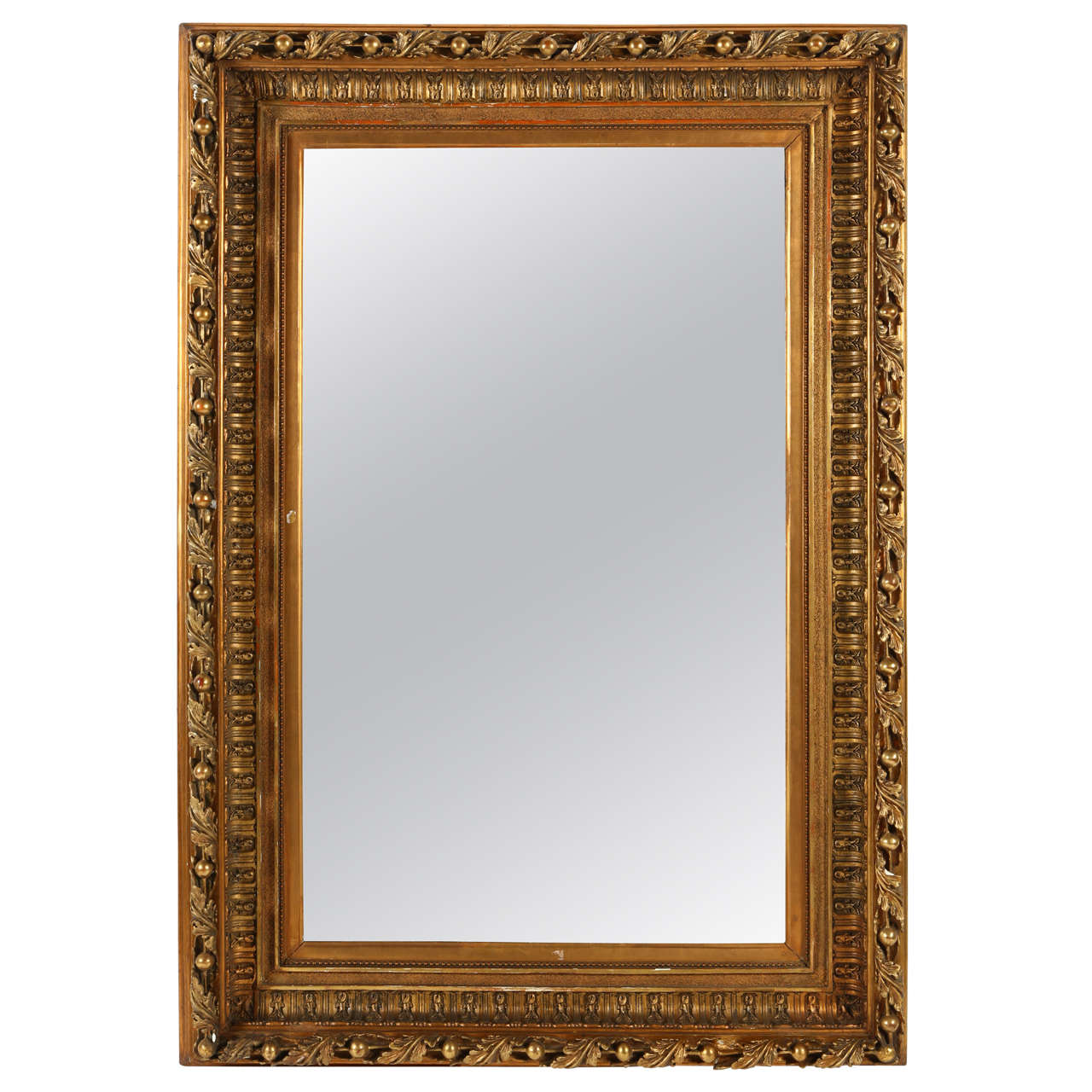 Large giltwood mirror for sale at 1stdibs for Tall mirrors for sale