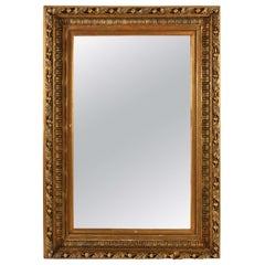 Large Giltwood Mirror