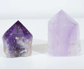 Exquisite Pair of Amethyst Geodes from the Hearst Collection image 2