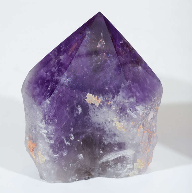Exquisite Pair of Amethyst Geodes from the Hearst Collection 3