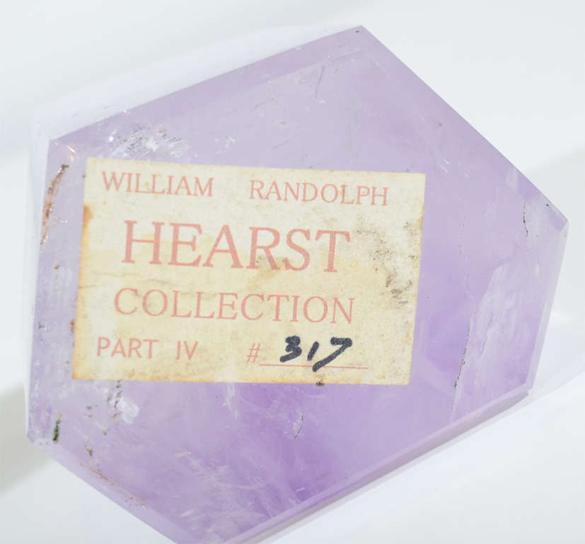 Exquisite Pair of Amethyst Geodes from the Hearst Collection 7