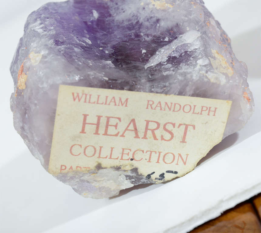 Exquisite Pair of Amethyst Geodes from the Hearst Collection 8