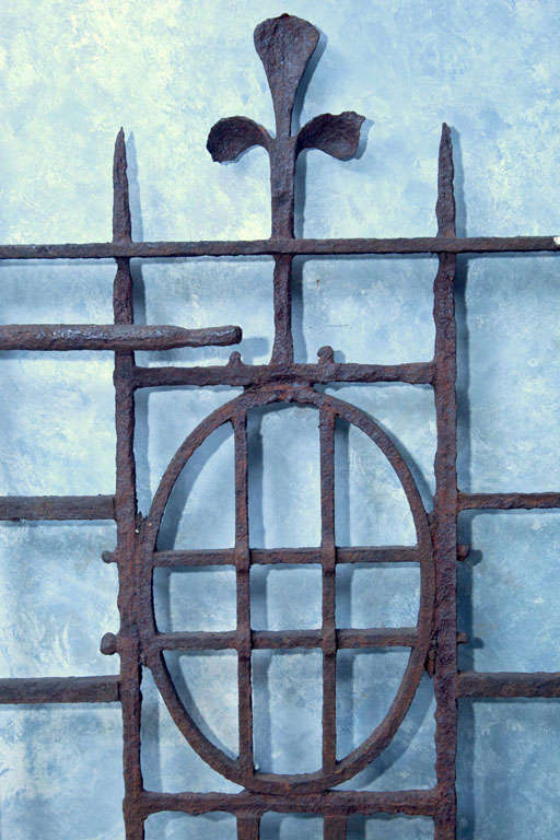 Lovely 18th C English Wrought Iron Gate At 1stdibs