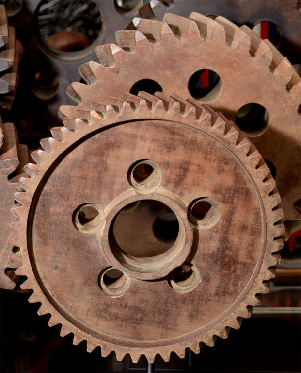 Collection of Early 20th Century Micarta Industrial Gears In Good Condition In New York, NY