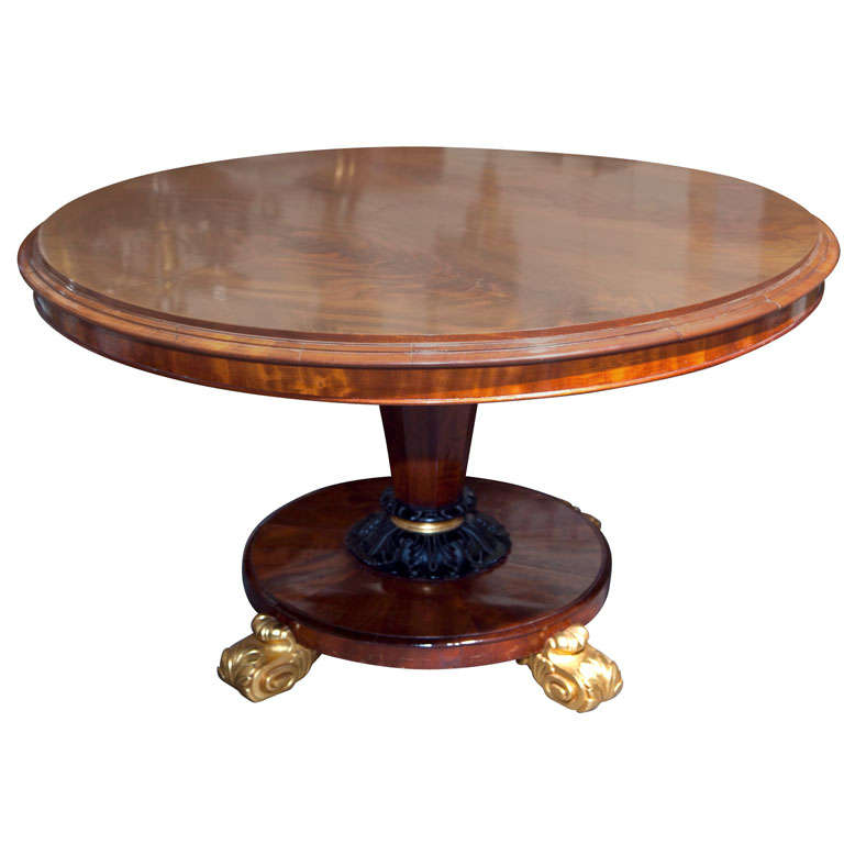William IV Tilt-Top Centre Table
