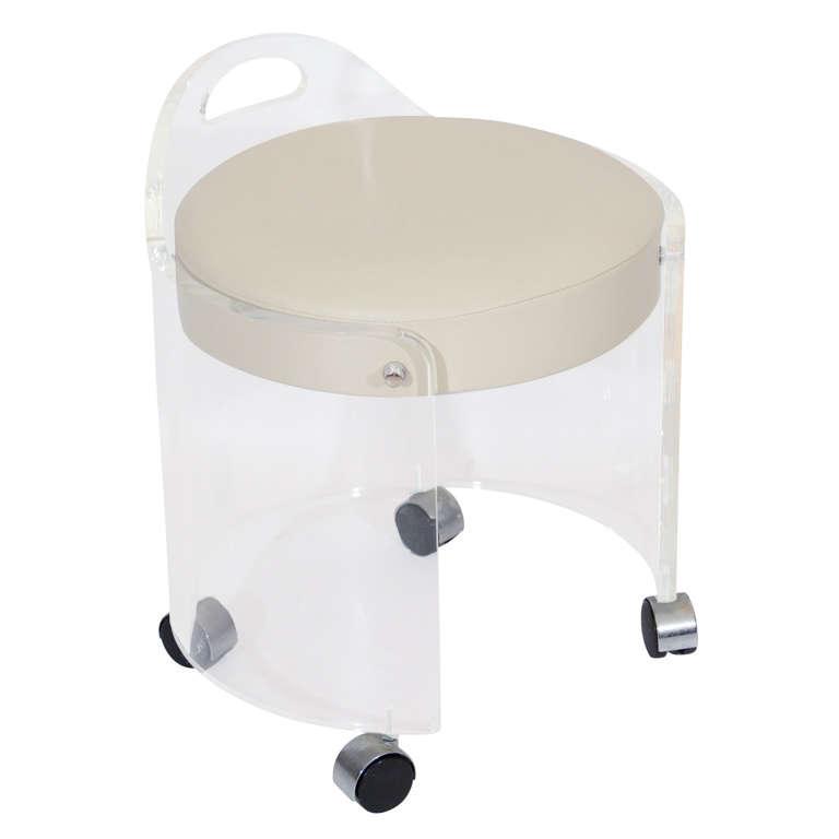 X - Acrylic vanity chair ...
