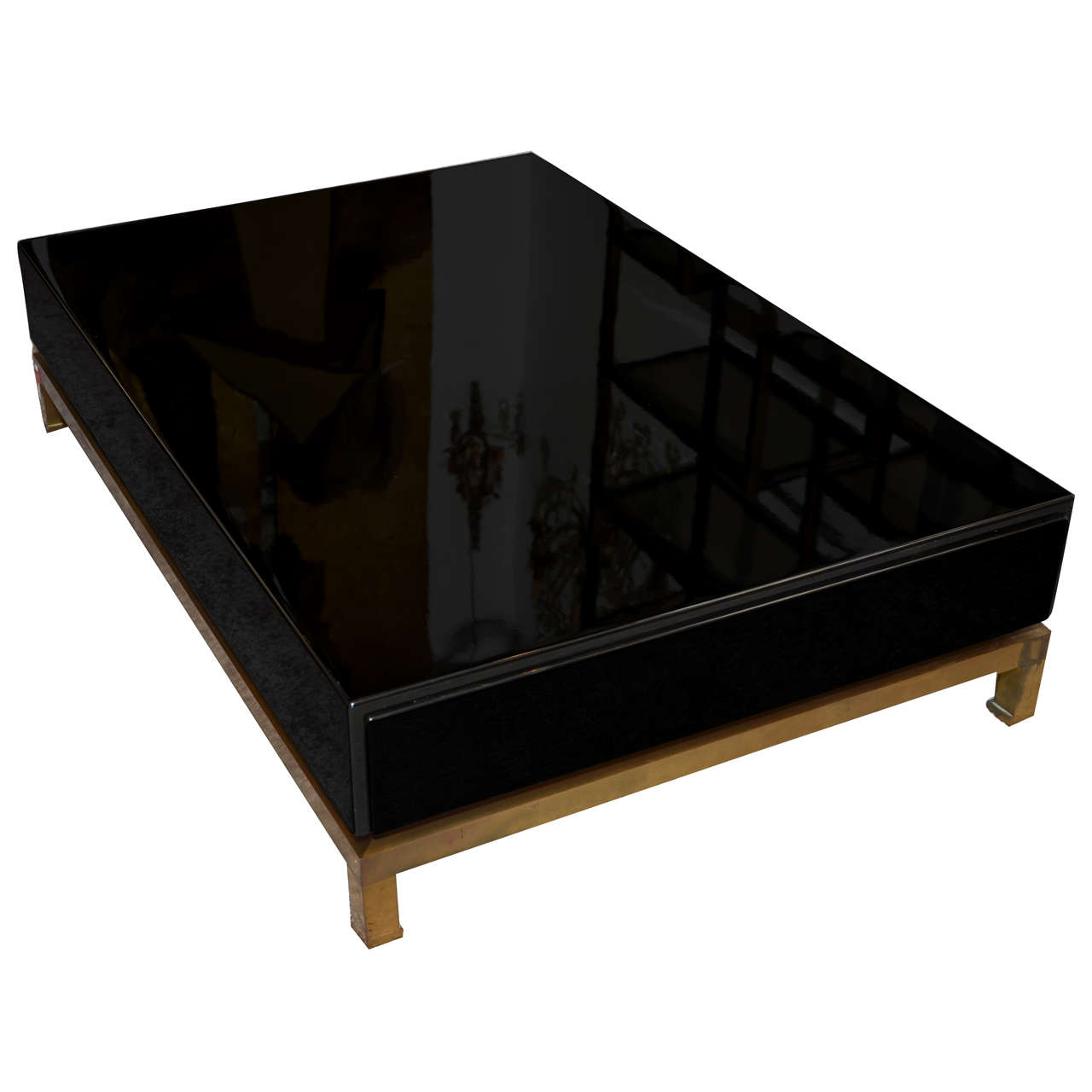 1970s Coffee Table By Guy Lef Vre For Maison Jansen At 1stdibs