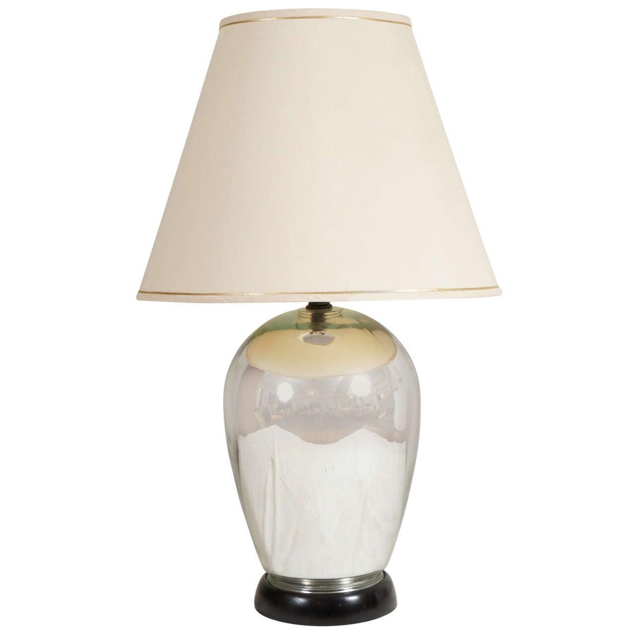 mercury table lamp at 1stdibs. Black Bedroom Furniture Sets. Home Design Ideas