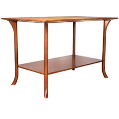Walnut End Table by T.H. Robsjohn-Gibbings for Widdicomb