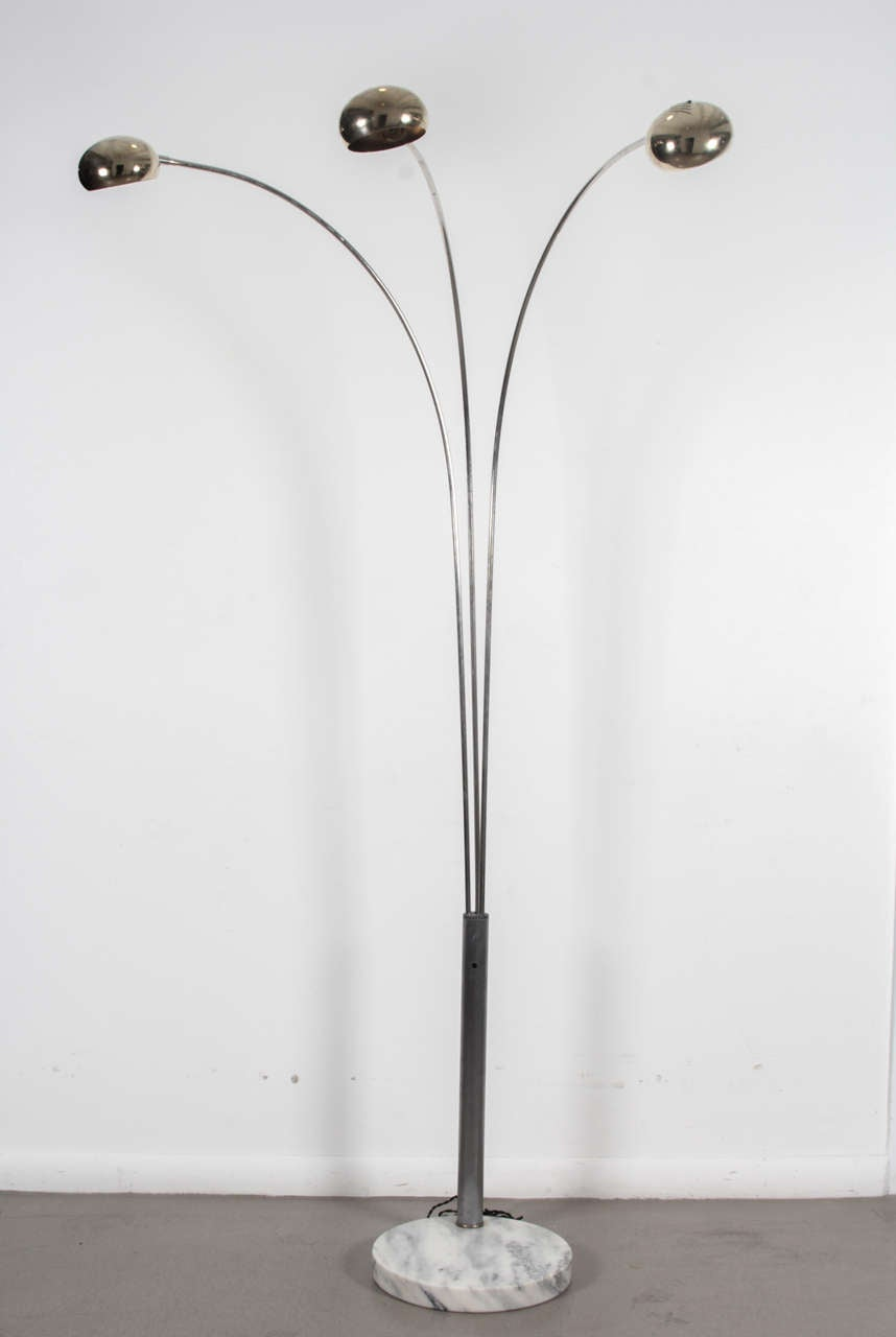 1960s Italian Arc Floor Lamp At 1stdibs