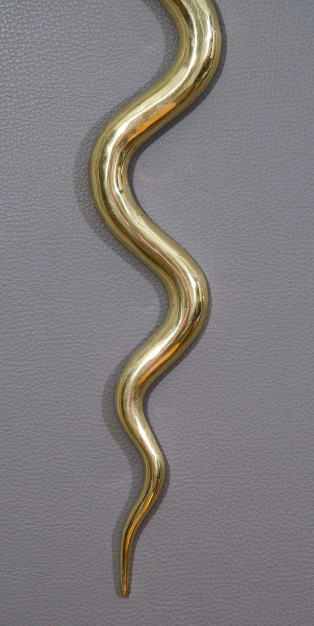 Bronze Cobra Sconces 3
