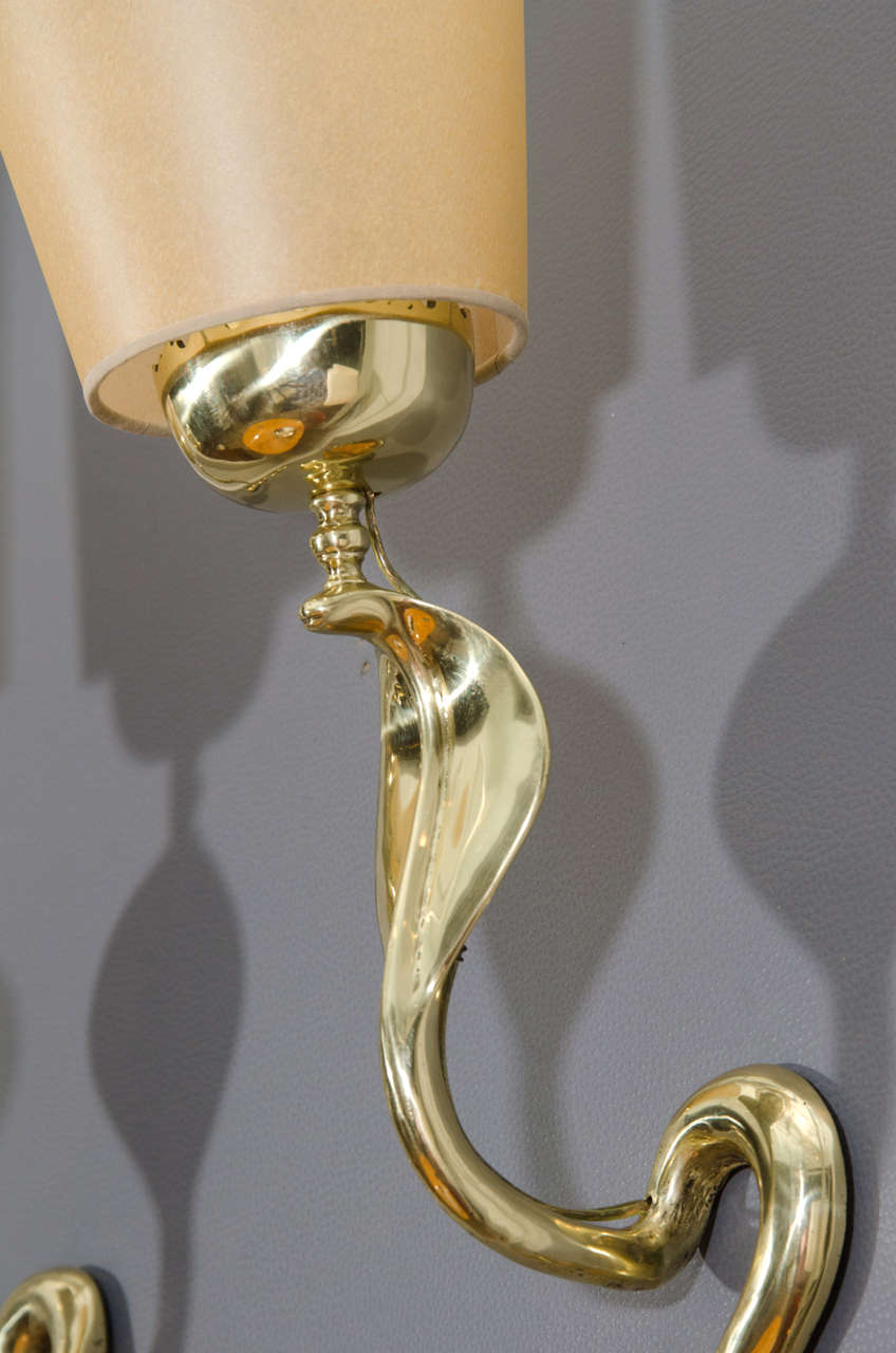 Bronze Cobra Sconces 5