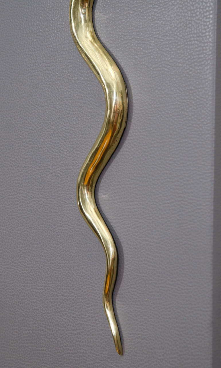 Bronze Cobra Sconces 7