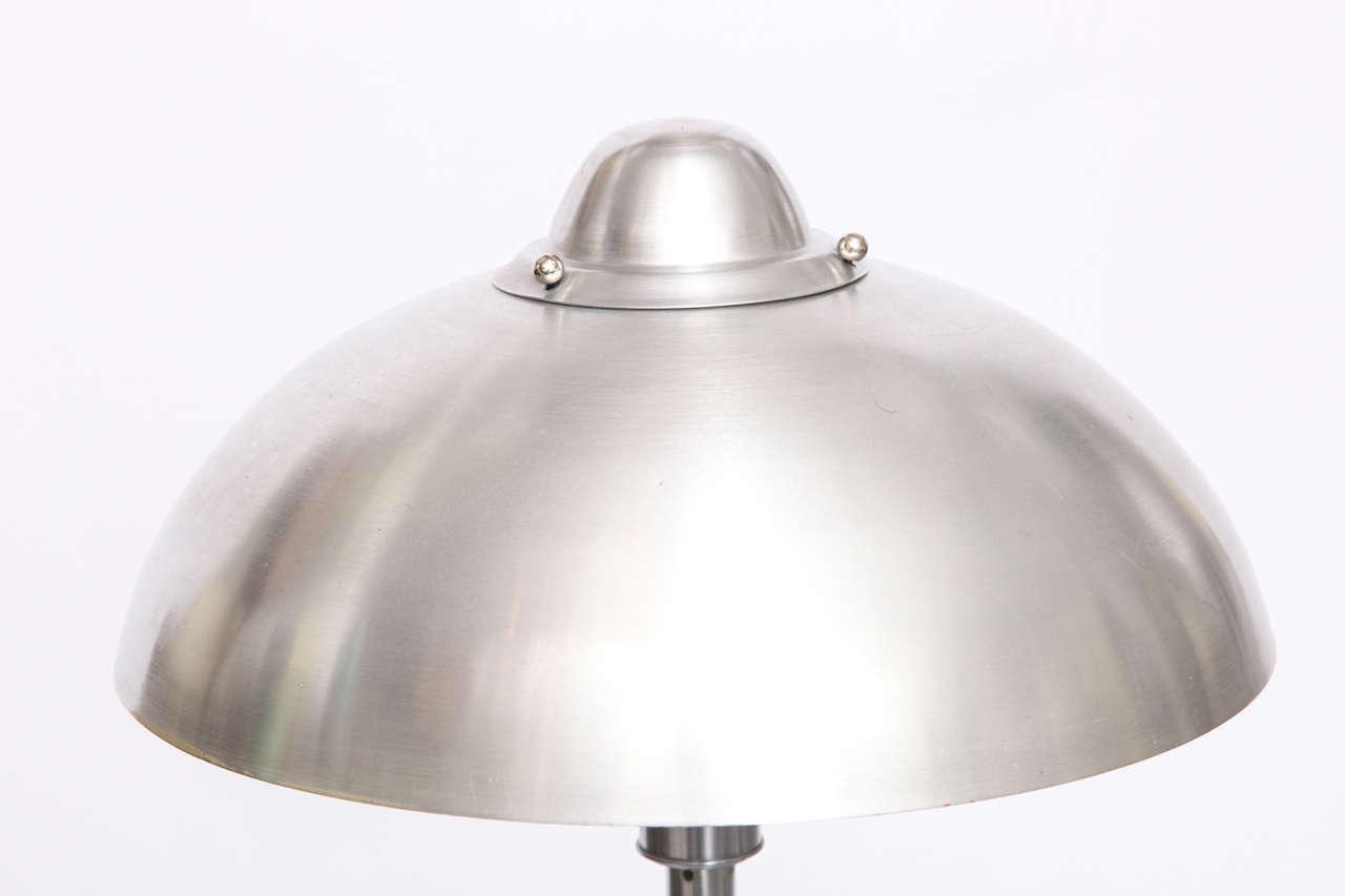 Rare 1920s American Modernist Table Lamp By Kurt Versen