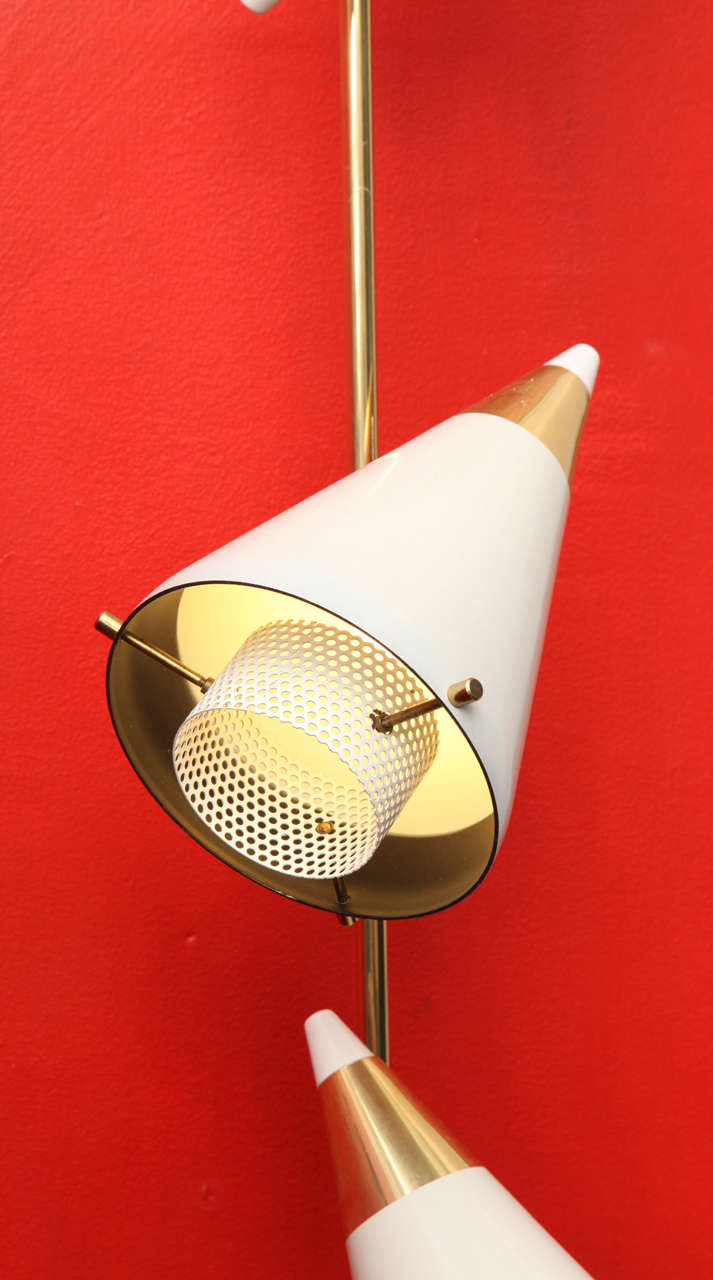 A 1950 S Articulated Architectural Wall Light By Gerald