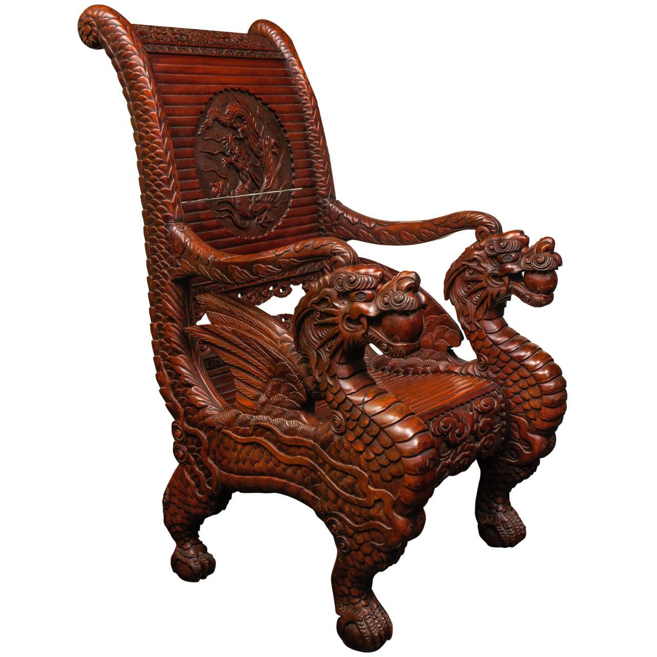 Dragon Chair At 1stdibs